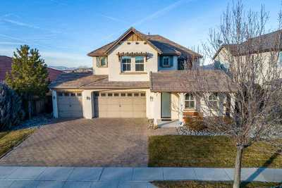 Reno Single Family Home New: 425 Manciano