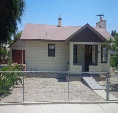 Lovelock Single Family Home Auction: 1160 Franklin