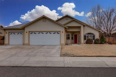 Gardnerville Single Family Home Active/Pending-Call: 1345 Guiness Way