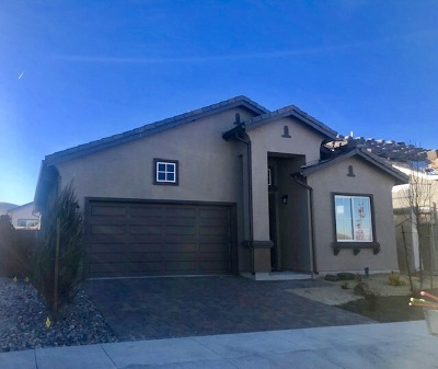 Sparks NV Single Family Home New: $376,625