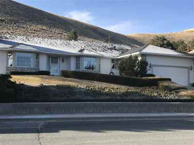 Carson City Single Family Home For Sale: 1248 Crain Street