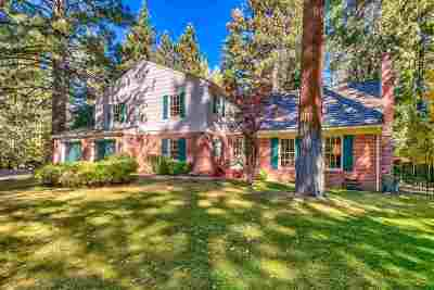 Incline Village Single Family Home For Sale: 617 Fourteenth Green