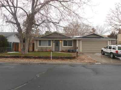 Carson City Single Family Home New: 2500 Hansen Drive