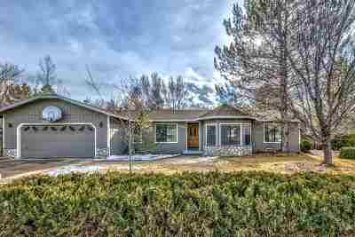 Carson City Single Family Home Active/Pending-Loan: 4859 Aquifer Way
