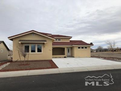 Fernley Single Family Home For Sale: 410 Dog Leg Dr.