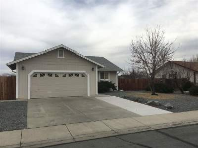 Sparks Single Family Home New: 2276 Rockin Robin Dr.