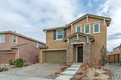 Reno Single Family Home Active/Pending-House: 2090 Half Dome Drive