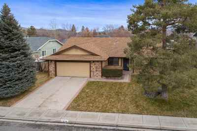 Carson City Single Family Home Active/Pending-Call: 1839 Clydesdale Drive