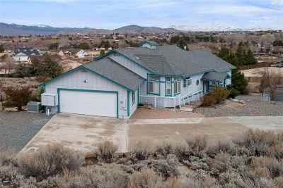Carson City Single Family Home Active/Pending-House: 3667 Cindy's Trail