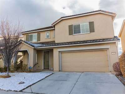 Sparks Single Family Home Active/Pending-Call: 7425 Windswept Loop