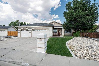 Washoe County Single Family Home Active/Pending-Loan: 3410 University Green