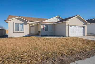 Fernley Single Family Home Active/Pending-Call: 368 Bens Way