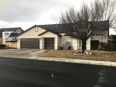 Fernley Single Family Home For Sale: 1058 Greenbrook Place