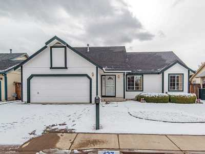 Carson City Single Family Home Active/Pending-Loan: 427 Somerset Dr