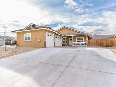 Fernley Single Family Home For Sale: 1474 Green River Lane