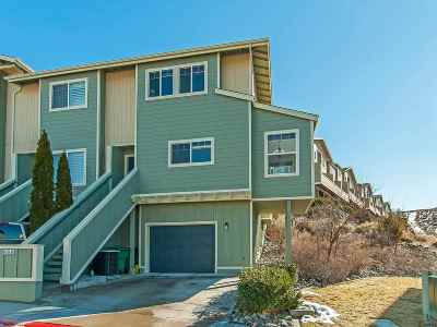 Reno Condo/Townhouse For Sale: 490 Preston Burr Lane