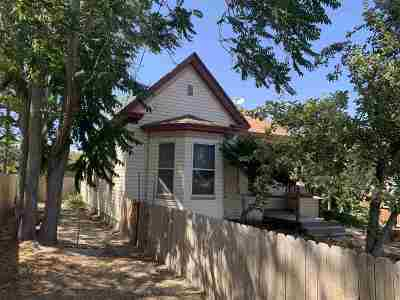 Lovelock Single Family Home For Sale: 625 W Broadway