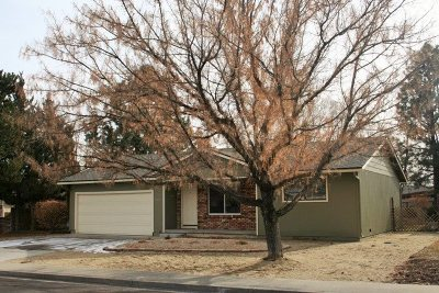 Carson City Single Family Home Active/Pending-House: 805 Jeanell Dr.