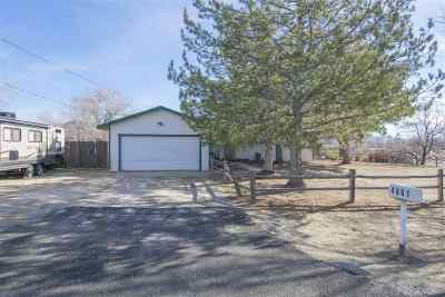 Carson City Single Family Home For Sale: 4861 Silver Sage Dr