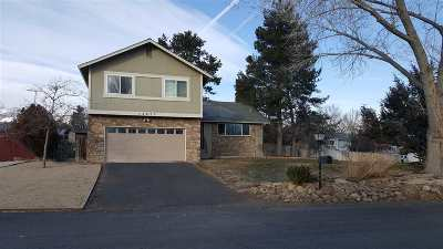Reno Single Family Home Active/Pending-Loan: 12475 Overbrook Dr