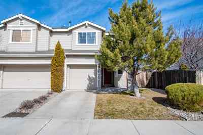 Reno Single Family Home Active/Pending-Loan: 9237 Lone Wolf Circle