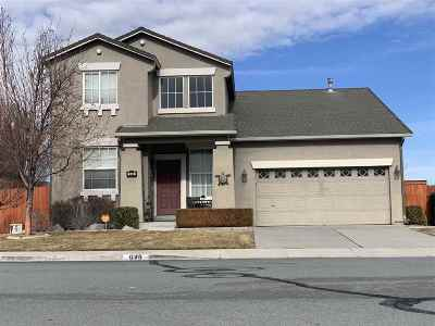 Sparks NV Single Family Home Back On Market: $419,000