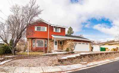 Reno Single Family Home For Sale: 3255 Argo Way