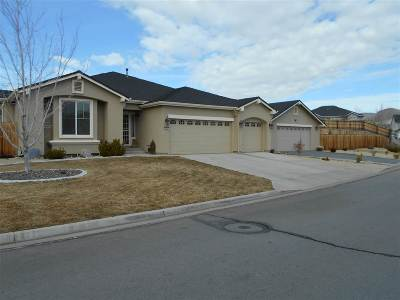 Sparks Single Family Home Active/Pending-Loan: 1363 Fuggles Drive