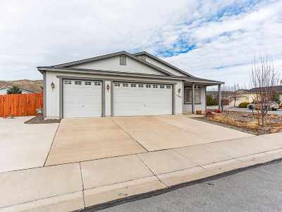 Washoe County Single Family Home Active/Pending-Loan: 17605 Thomasville Court
