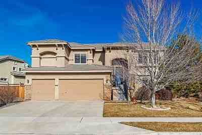 Sparks Single Family Home For Sale: 2808 Silverton Way