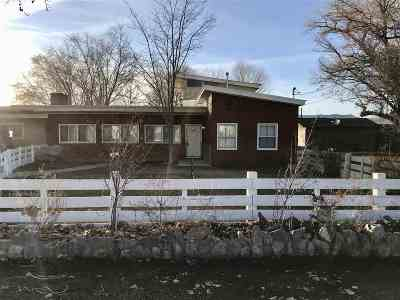 Yerington Single Family Home Active/Pending-Loan: 625 S Center
