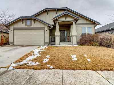 Sparks Single Family Home For Sale: 5782 Meadow Park Dr.