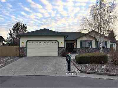 Carson City Single Family Home For Sale: 2020 Shadow Brook