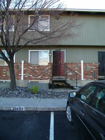 Washoe County Condo/Townhouse For Sale: 1408 E 9th Street #2