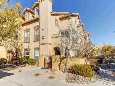 Reno Condo/Townhouse For Sale: 17000 Wedge Parkway #312