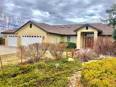 Reno, Sparks, Carson City, Gardnerville Single Family Home Active/Pending-Loan: 55 Water Lily Court