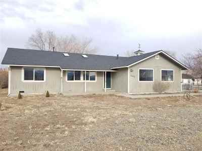 Washoe Valley Single Family Home Active/Pending-Loan: 885 Old Ophir Road