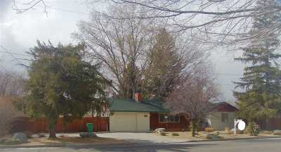 Carson City Single Family Home For Sale: 1404 N Division St.