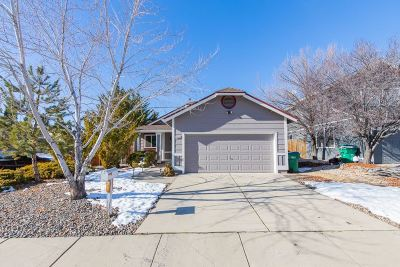 Reno Single Family Home Active/Pending-Loan: 1733 Shadow Park Drive
