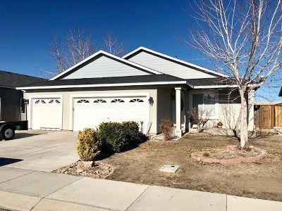 Fernley Single Family Home For Sale: 391 Ben's B Way