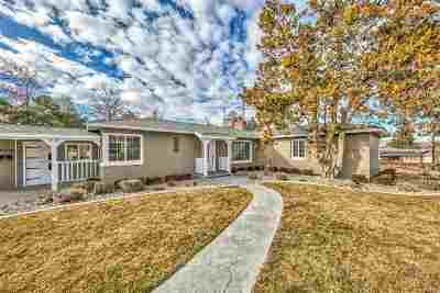 Reno Single Family Home For Sale: 535 Foster Drive