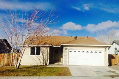 Fernley Single Family Home Active/Pending-Loan: 628 Annie Way