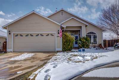 Gardnerville Single Family Home Active/Pending-Call: 1444 N Marion Russell