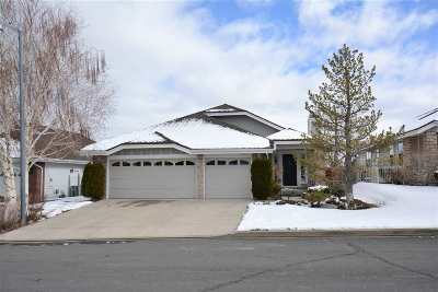 Reno Single Family Home Active/Pending-Loan: 6164 Wycliffe Cir