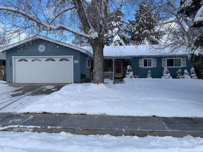 Carson City Single Family Home Active/Pending-Loan: 1520 Goldfield