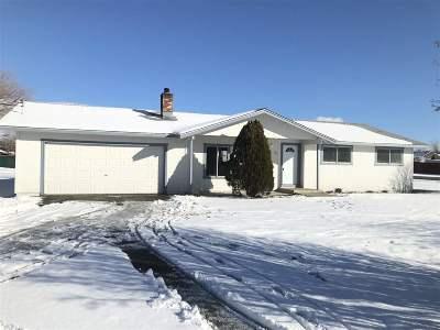Gardnerville Single Family Home Active/Pending-Call: 975 Tillman Lane