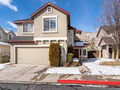 Reno Single Family Home For Sale: 5709 Golden Eagle Dr