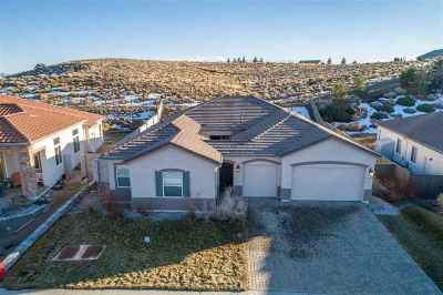 Reno Single Family Home Active/Pending-Loan: 8450 Opal Station Dr