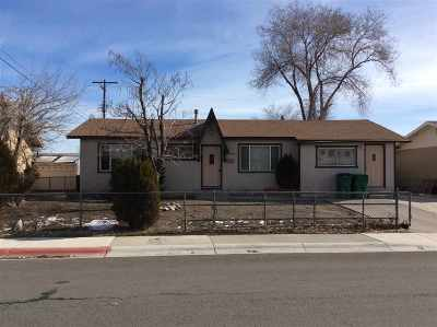 Reno Single Family Home Active/Pending-Call: 1150 Goldfield St