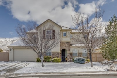 Reno Single Family Home Active/Pending-Call: 10830 Sand Hollow